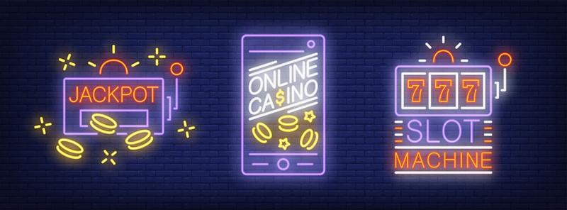 Neon Casino Slot Jackpot
