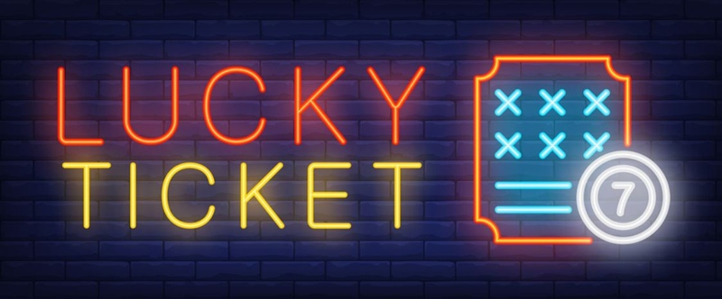 Lucky Ticket Neon