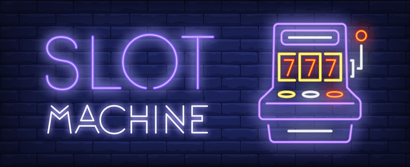 Slot Machine Neon